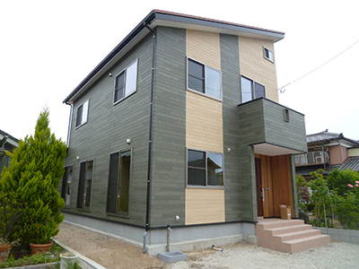 越後杉と生体エネルギーの家